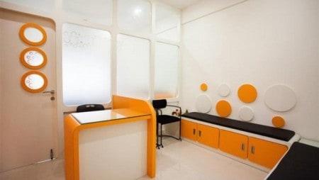 Interiors of Pediatric clinic